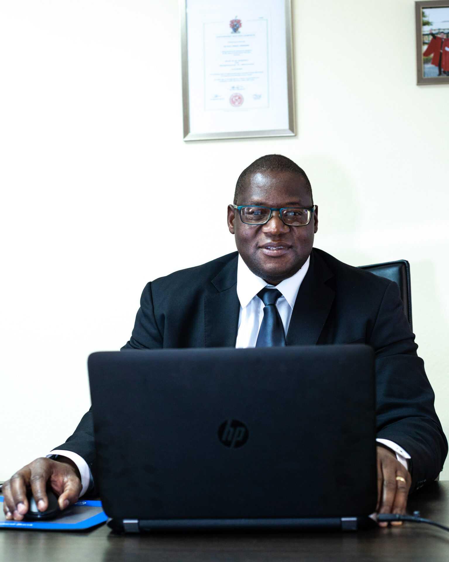 Dr. Matthias Ngwangwama - Managing Director